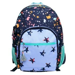 Cat & Jack Backpack Splatter Star 17""